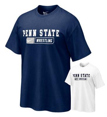 NIKE - Penn State Wrestling Bar Adult T-shirt