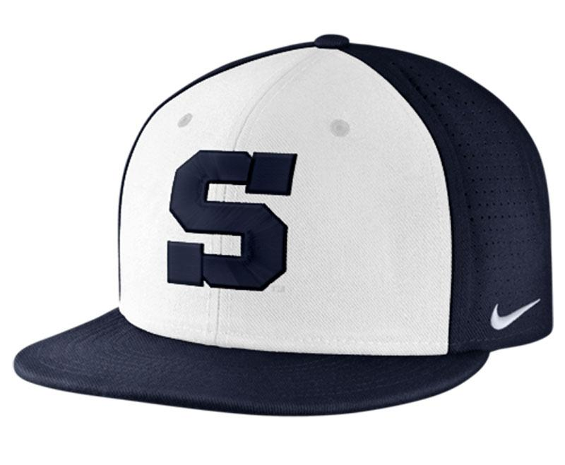 penn state baseball nike dri fit true vapor hat headwear