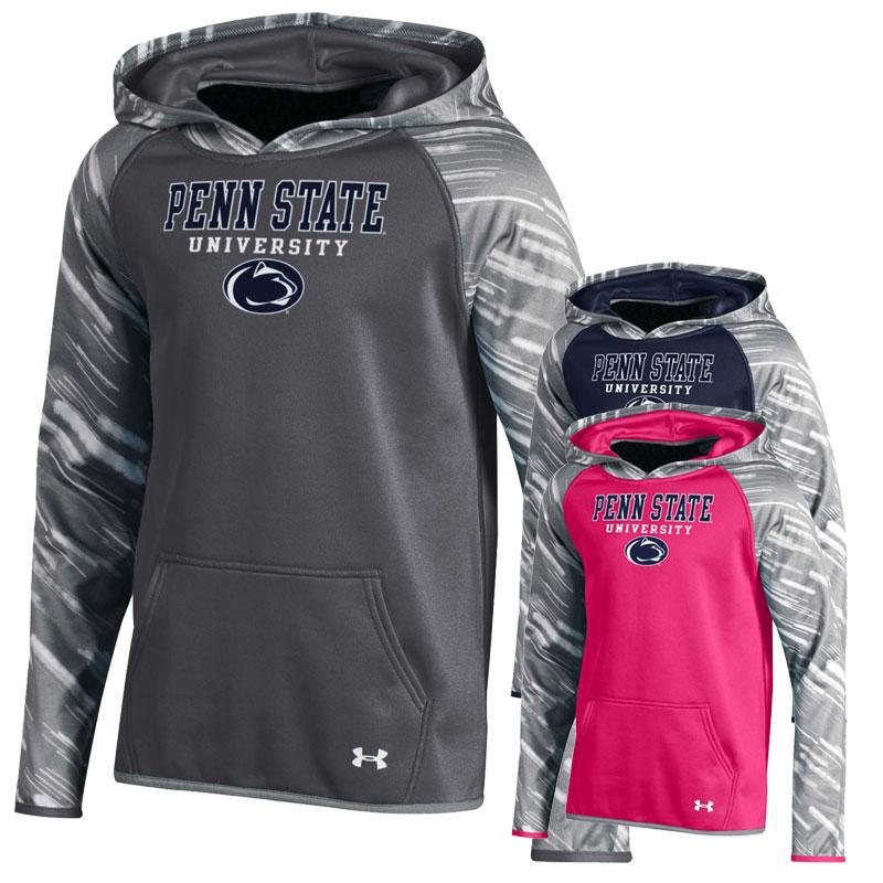 Penn State Under Armour Youth Printed Hood Kids Gt Youth