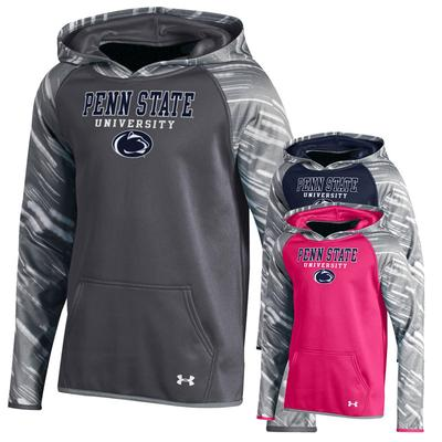 UNDER ARMOUR - Penn State Under Armour Youth Printed Hood