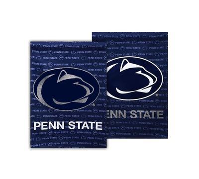 Team Sports America - Penn State Garden Glitter Logo Flag