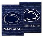 Penn State Glitter Logo Flag