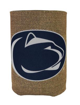 JayMac - Penn State Burlap Logo Koozie