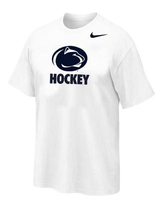 Penn State Nike Hockey Logo Sport T-Shirt WHITE