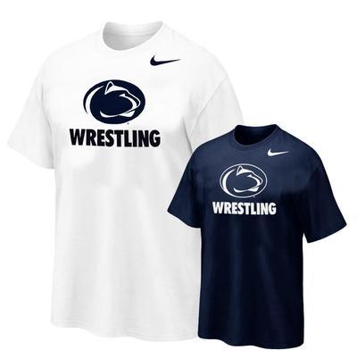 NIKE - Penn State Nike Wrestling Logo Sport T-Shirt