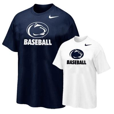 NIKE - Penn State Nike Baseball Logo Sport T-Shirt