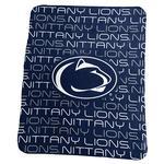 Penn State Classic Fleece Repeat Blanket NAVYWHITE