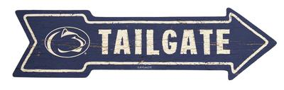 Legacy - Penn State Tailgate This Way Arrow Wooden Sign