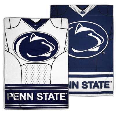 Team Sports America - Penn State Football Jersey Garden Flag