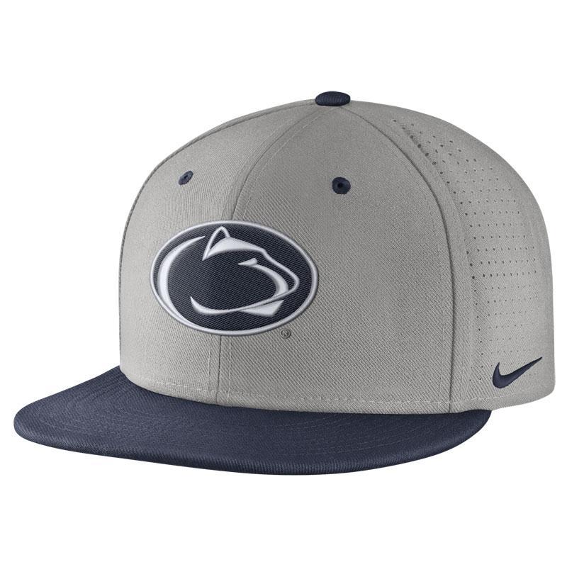 98c5e5eeca716 Penn State Nike Men s True Logo Vapor Hat GREY ...