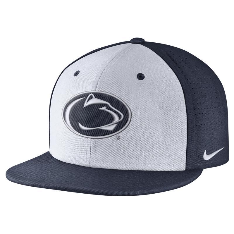 81b27eaaf01c5 ... Penn State Nike Men s True Logo Vapor Hat WHITE