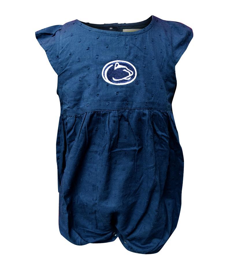 Penn State Infant Swiss Dot Scarlet Dress