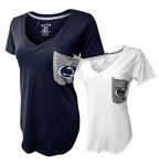 Penn State Women's Supima Mascot Pocket T-Shirt