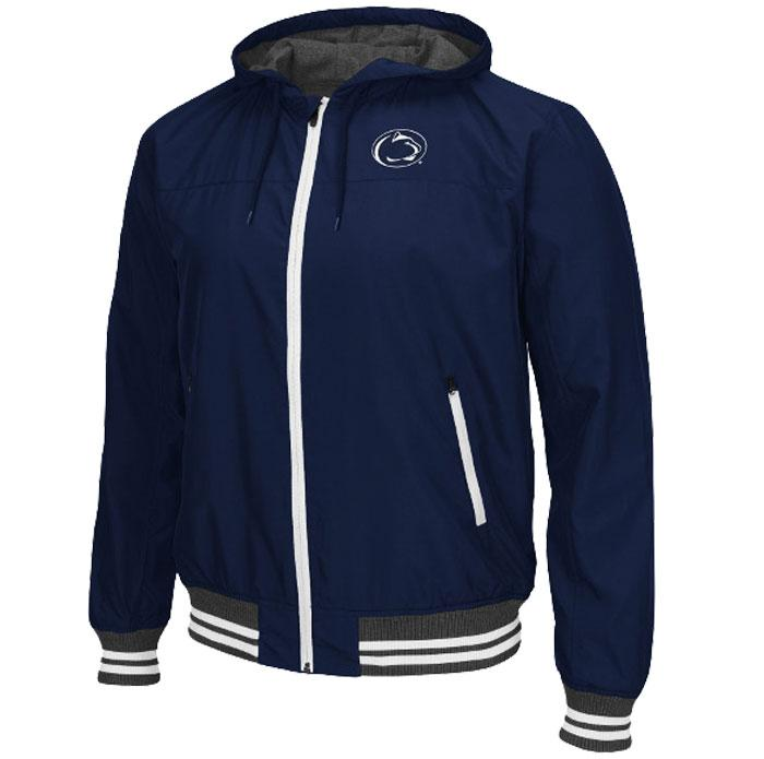 Penn State Men's Black Ice Hooded Jacket | Mens > JACKETS