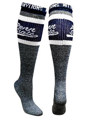 ZooZatz - Penn State Knee High Rollover Crew Socks