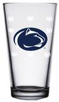 Penn State 16 oz. Satin Etch Logo Pint Glass
