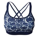 Penn State Women's Stacked Logo Sports Bra