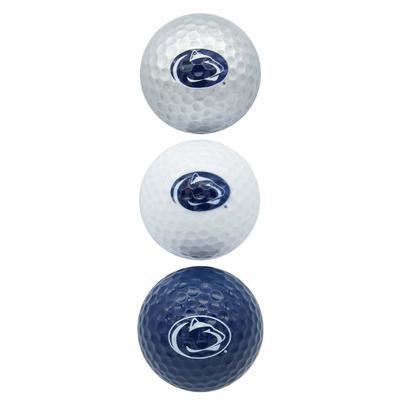 Team Golf - Penn State Golf Balls 3 Pack
