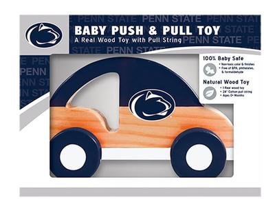 Masterpieces Puzzle Co. - Penn State Infant Wooden Push & Pull Toy