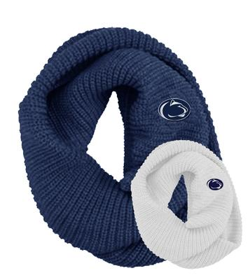 LogoFit - Penn State Piper Chunky Knit Infinity Scarf