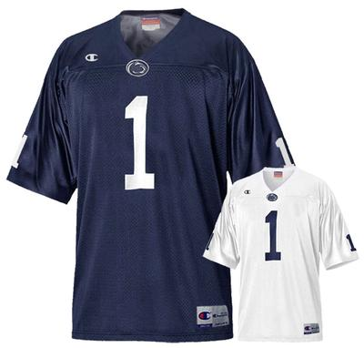 Champion - Penn State Youth Champion #1 Champ Football Jersey