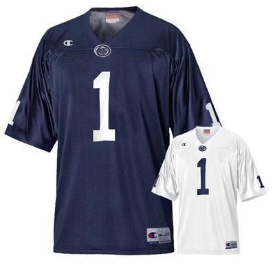 Champion - Penn State Adult Champion #1 Champ Football Jersey