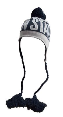 New Era Caps - Penn State Youth Wintry Worded Knit Hat
