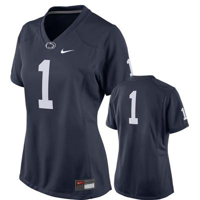 NIKE - Penn State Nike Women's #1 Replica Football Jersey