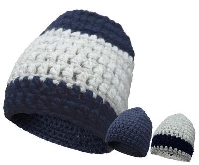 J.Evelhair Works  - Penn State Chunky Knit Hat