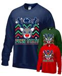 Penn State Reindeer Holiday Adult Crew