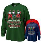 Penn State Elves Holiday Adult Long Sleeve