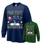 Penn State Old Main Holiday Adult Long Sleeve