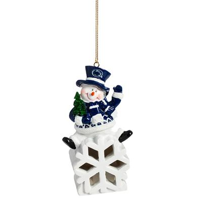 Team Sports America - Penn State LED Snowman Ornament