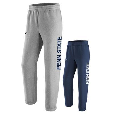 NIKE - Penn State Nike Men's Stadium Fleece Sweatpants