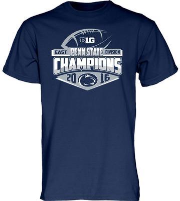 Blue 84 - Penn State BIG TEN EAST Division Champions Locker Room Adult T-Shirt