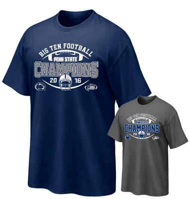 The Family Clothesline - Penn State 2016 BIG TEN Champions Adult T-Shirt