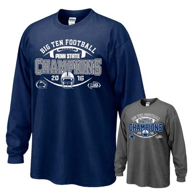 The Family Clothesline - Penn State 2016 BIG TEN Champions Adult Long Sleeve