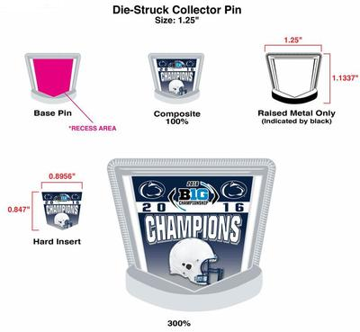 Wincraft - Penn State Big Ten Champions Lapel Pin