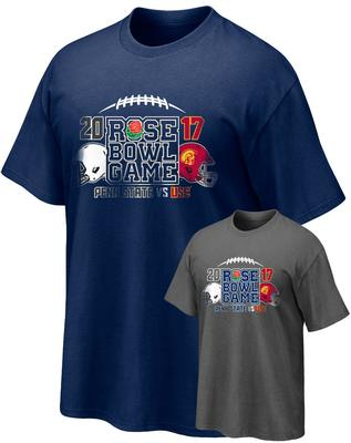 The Family Clothesline - Penn State Rose Bowl 2017 Teams Adult T-Shirt