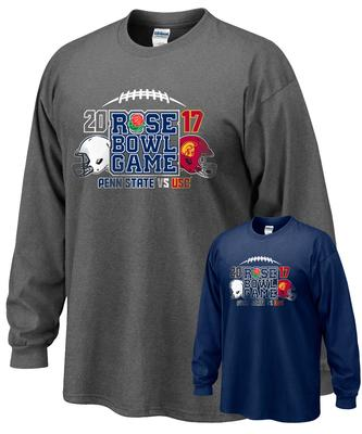 The Family Clothesline - Penn State Rose Bowl 2017 Teams Long Sleeve T-Shirt