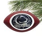Penn State Mini Replica Football Ornament BROWN