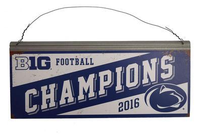 Legacy - Penn State 2016 Big Ten Champions Tin Sign