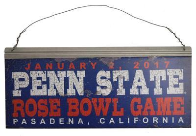 Legacy - Penn State 2017 Rose Bowl Tin Sign
