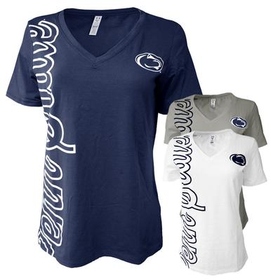 UNDER ARMOUR - Penn State Under Armour Women's Taps V-Neck