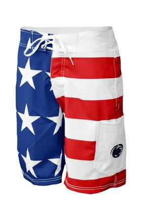 G-III Apparel - Penn State Men's Americana Swim Trunks