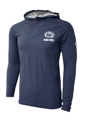 UNDER ARMOUR - Penn State Under Armour Men's Lightweight Henley Hood