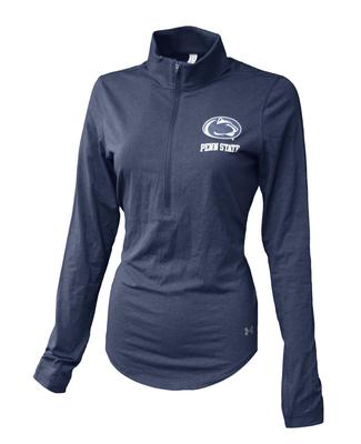UNDER ARMOUR - Penn State Under Armour Women's LC Logo Quarter Zip