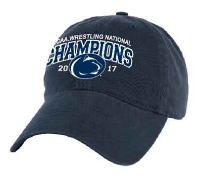 Legacy - Penn State 2017 Wrestling NATIONAL CHAMPIONS Hat