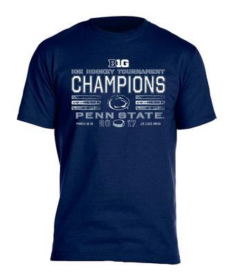 Blue 84 - Penn State 2017 BIG TEN Ice Hockey CHAMPIONS T-Shirt