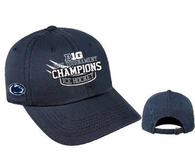 Top of The World - Penn State 2017 Hockey Big Ten Champions Locker Room Hat